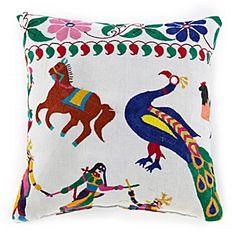 Indian Tent Top Pillow 1