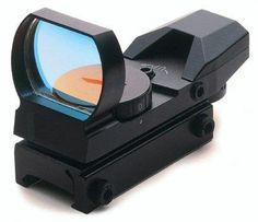 "UAG Tactical ""CQB"" Rifle Shotgun Pistol Red-Green 4 Reticle Red Dot Open Reflex Sight/Scope"