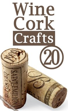20 Wine Cork Crafts | DIY Roundup