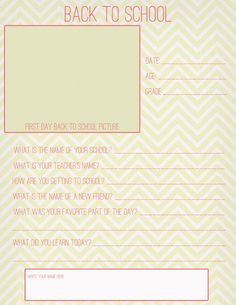 back to school free printable from Janice Reyes Photography