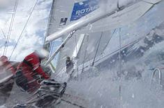 Race 4, Day 8: Qingdao first across Scoring Gate following wet, wild day