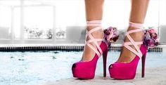 Sexy shoe accessory.