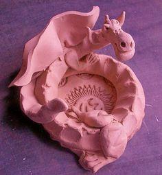 Dragon by Chipmunk Hill Arts, via Flickr