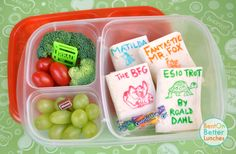 Roald Dahl inspired school lunch boxes