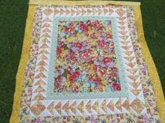Butterfly medallion quilt pattern and tutorial from Ludlow Quilt and Sew