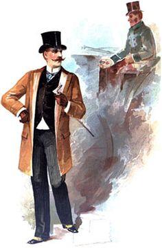 Victorian Men's Clothing - 1880s