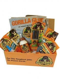 a fantastic giveaway of Gorilla Glue products..