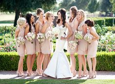 well dressed | shortest & sweetest bridesmaids dresses