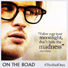 What do you think of Tom Sturridge as On The Road's resident poet laureate, Carlo Marx? #TheMadOnes