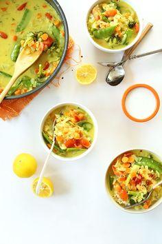 Simple Coconut Curry over Coconut Quinoa