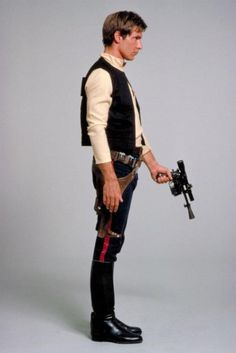 Never seen this pic of Han Solo before! :-D