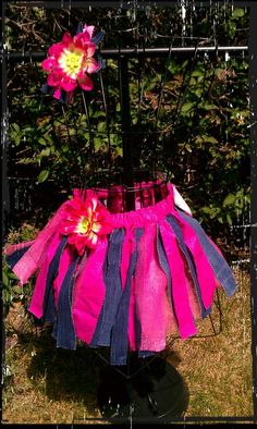 Denim rag skirt adult rag skirt rag tutu by ritarebellodesigns, $35.00