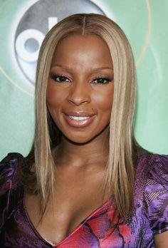 Mary J. Blige Hair