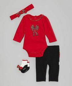 girl cloth, bow bodysuit, kid cloth, plaid bow, red plaid, babi girl, bows, infants, bodysuit set
