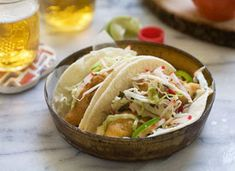 Eatsy: Baja-Style Fish Tacos With Shredded Cabbage Slaw on Etsy