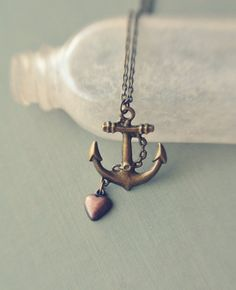 I<3 anchor jewelry. Makes me think of A,AK