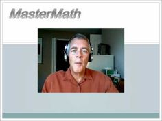 MasterMath Video Lessons: middle school math