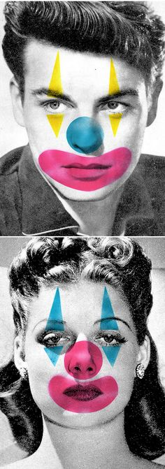 Steven Quinn - found image & stenciled spray paint