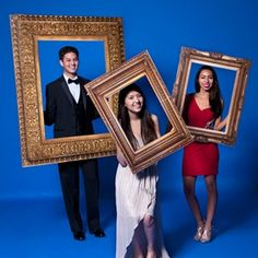 The Great Frame Up Photographer Prop Kit ~  A hit at Prom, Homecoming, After-Prom, or Graduation. These kit accents are perfect for any art-inspired theme or as fun photo opps for any theme.