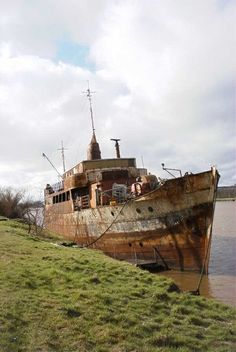 German wreck near Eisenbahn dock.