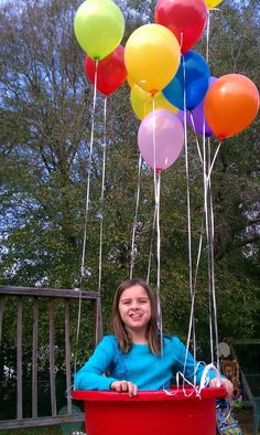 Hot Air Balloon birthday bash