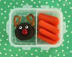 donut reindeer snack by anotherlunch.com, via Flickr