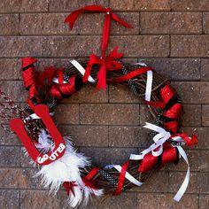 University of Utah Wreath! Go UTES!!