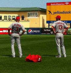 Spring Training butts