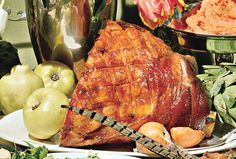 Old-Fashioned Ham with Brown Sugar and Mustard Glaze Recipe  | Epicurious.com