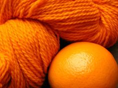 color naranja, colour orang, orang yarn, orang color, tangerine orange