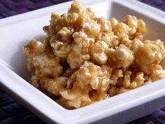 caramel popcorn with seal salt. you had me at caramel