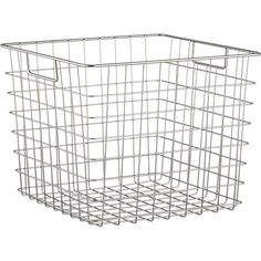 Square Wire Basket | Crate