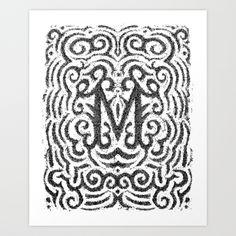 letter, erik marinovich, art prints, inspir, type