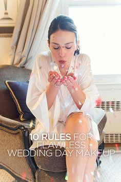 "We interviewed Laura Mercier Global Makeup Artist Alexis Comforti and here are her ""10 Rules for Flawless Wedding Day Makeup"". Click to Read more."