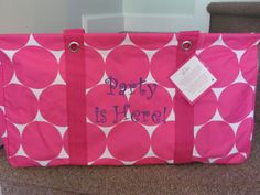 When you purchase this Large Utility Tote 31 cents will be donated to support women and their families.  #thirtyonegives www.mytotesrock.com