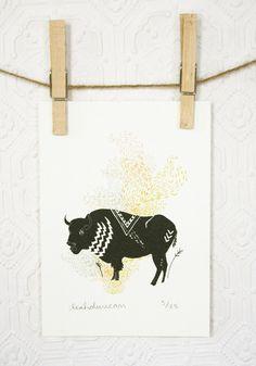 i love bison.
