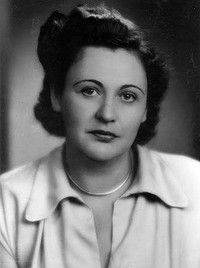 """The incredible Nancy Wake.  She was a powerful WWII Nazi hunter and member of the French resistance.  At one point she was #1 most wanted and most-hated by the Nazis.  They called her """"The White Mouse"""" because she always escaped them.  Read about her--she is fascinating!"""