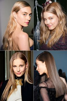 Fall's New Beauty Trends to Try Now: Tousled Tresses vs. Sleek Waves