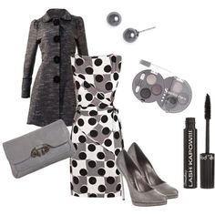 jacket, polka dots, the dress, red lips, black white, shoe, coat, teacher outfits, date night outfits
