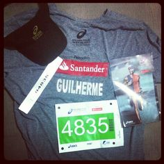 Kit personalizado amanhã o bicho pega!!!! #goldenfourasics  - @guilereis