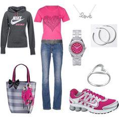 Nike Love, created by jklmnodavis.polyvore.com