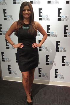 Kristina wearing Bijouterie on E! News!