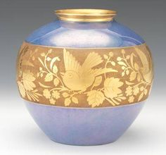 A Bavarian Art Deco Porcelain Vase | eBay