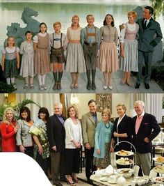The reunion of The Sound of Music family after 45 years. How cute are they?