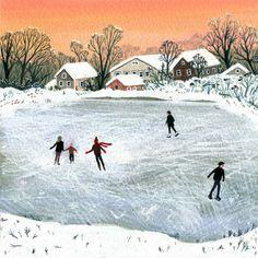 Becca Stadtlander ° frozen lake