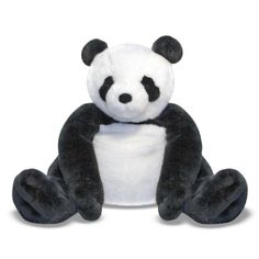Jumbo Plush Panda at theBIGzoo.com, an animal-themed superstore.
