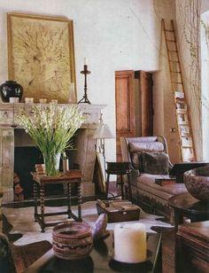 decor, interior, roses, inspir, hous, space, live room, rose tarlow, design