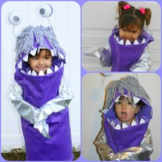 Monsters Inc. Boo Istelia would be perfect!