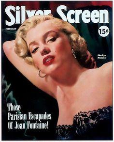 Silver Screen - February 1952, USA magazine. Cover girl, Marilyn Monroe <3