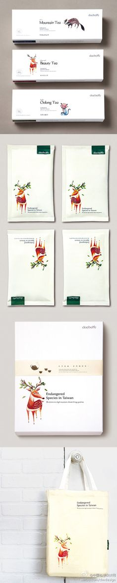 Nice tea package design. From: Victor design.